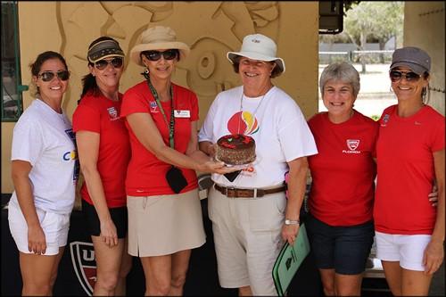 Our volunteers say Happy Birthday to Susan Allshouse