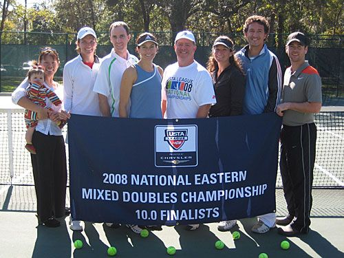 10 Adult Mixed Championships Finalists