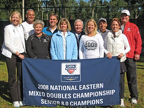 2008 National Eastern Mixed Senior 8.0 Champions