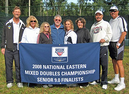 9.0 National Eastern Senior Mixed Finalists USTA Florida