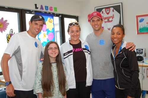 Bob and Mike Bryan at Cincinnati Children's