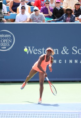 On Court at the Western & Southern Open
