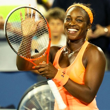 Sloane Stephens Victorious