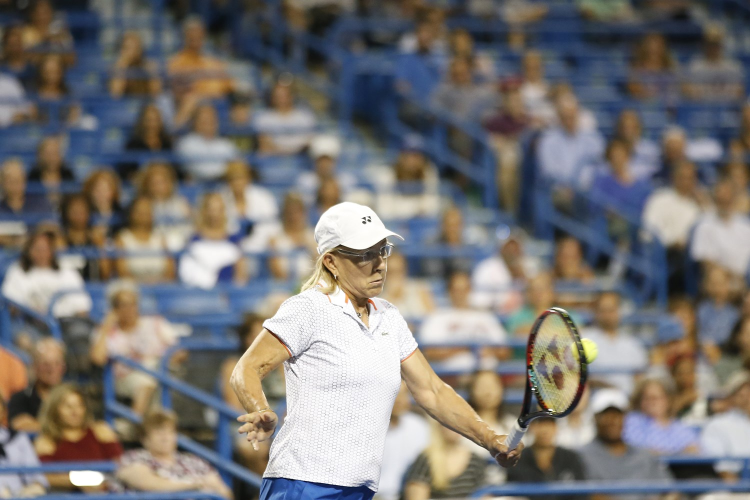 Martina Navratilova Mixed Doubles Exhibition