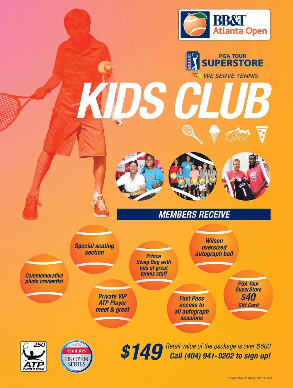Kids Club | BB&T Atlanta Open