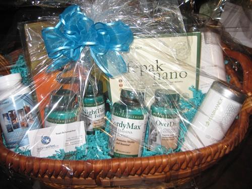 My Victory / NuSkin gift basket.