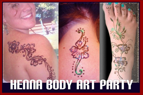 Hong Scott will give you some body art!
