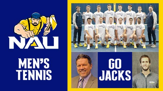NAU Men's tennis team