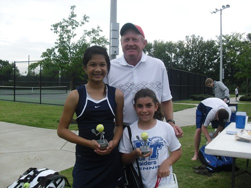 Joy Chanthanlay 12u Champ, Allie Paliaro runner-up, Bill Nea