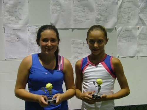 lexie Greene Girls 15u Singles Champ 2011, Ansley Eubank Run