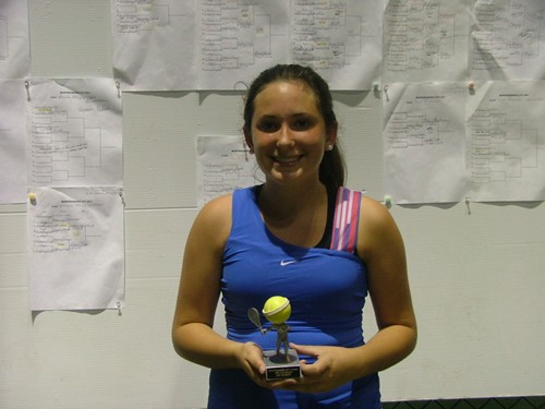 lexie Greene Girls 15u Singles Champ 2011