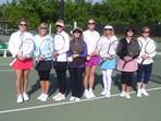 CTA Ladies Doubles Team Tennis Pictures