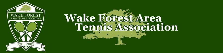 Wake Forest Area Tennis Association WFATA
