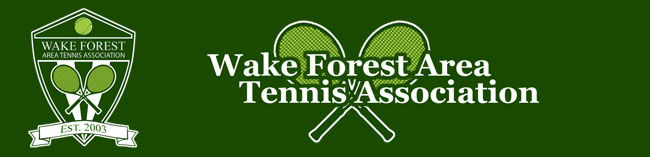 Wake Forest Area Tennis Association WFATA