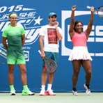 2015 Arthur Ashe Kids' Day Stadium Show