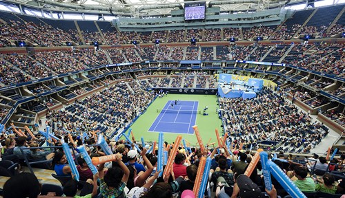 Scenes from the 2018 Arthur Ashe Kids' Day.