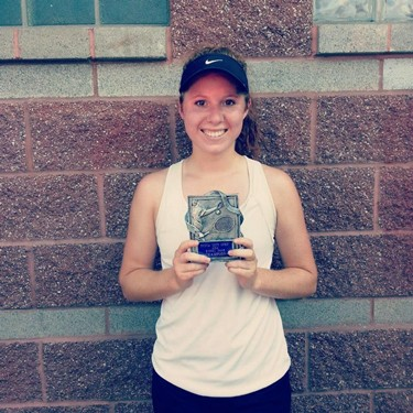 Carley Schmidt Womens Singles Champion