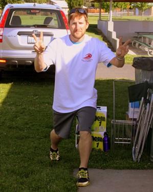 Daniel Ryan posing