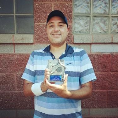 Jorge Garcia Mens Singles Winner