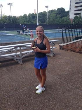 Girls 16s Consolation - Winner: Nicole Christiansen