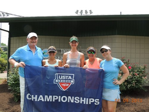2013 USTA TN Adult League Champions 18 over 2.5 Women Nashville