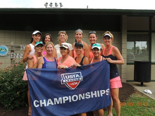 2013 USTA TN Adult League Champions 18 over 3.5 Women Memphis