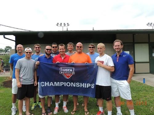 2013 USTA TN Adult League Champions 18 over 4.5 Men Knox Forsythe