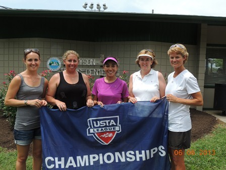2013 USTA TN Adult League Champions 18 over 4.5 Women Knox Brown Duncan