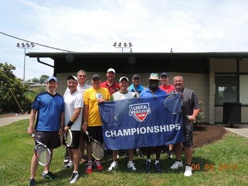 2013 USTA TN Adult League Champions 40 over 3.0 Men Knox Meryweather