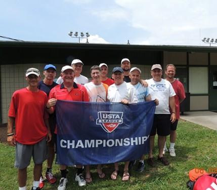 2013 USTA TN Adult League Champions 40 over 4.0 Men META Mullins