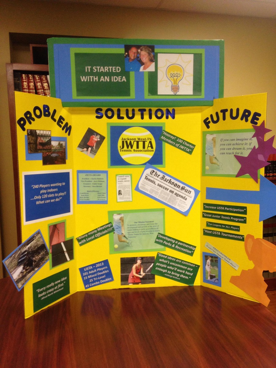 how to do a poster board project
