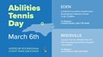 Abilities Tennis Day March 6, 2020