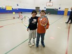 Healthy Hounds Night at Huntsville Elementary
