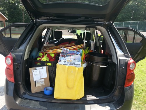 7-30 Reidsville Play Day car pack