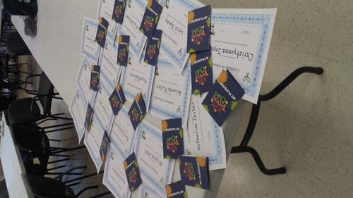 Bridge Street NJTL certificates