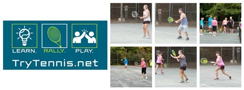 Collage Try Tennis Stoneville