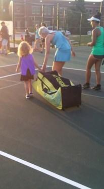 Family Tennis Night 9