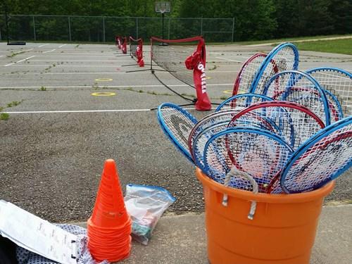 Monroeton Kids Tennis Club May 4