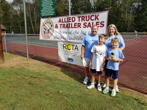 RCTA Boys 10s family