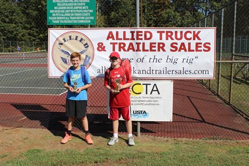 RCTA Boys 14s winner