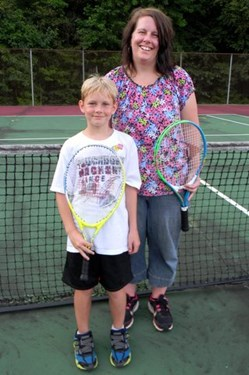 Tennis Day Hyler Family
