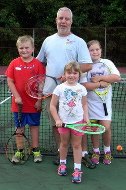Tennis Day Walker Family