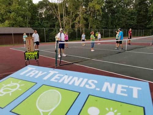 Try tennis Reidsville