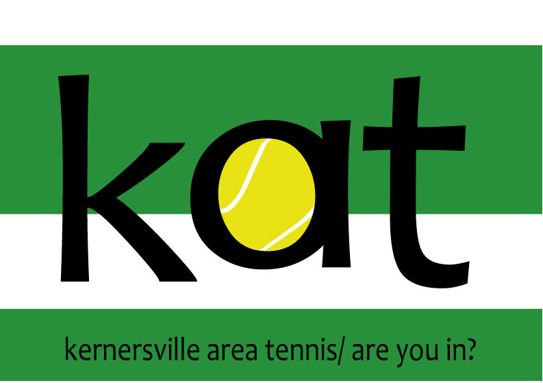 Kernersville area tennis logo