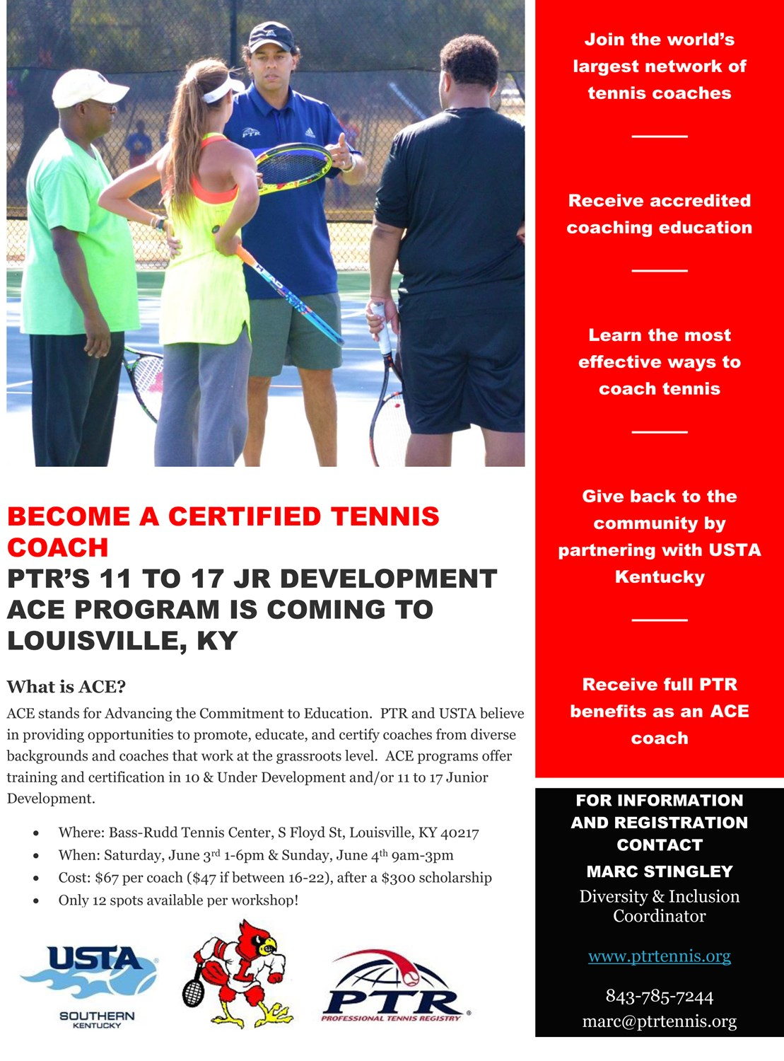 Diverse Coaches Scholarship Available For Ptr Ace Certification