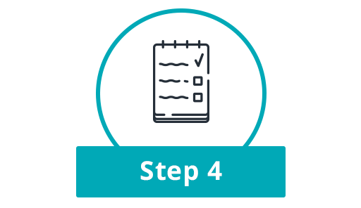 Step 4: Together we develop a plan