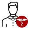 Male Nurse with patient
