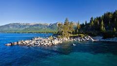 Image of scenic lake