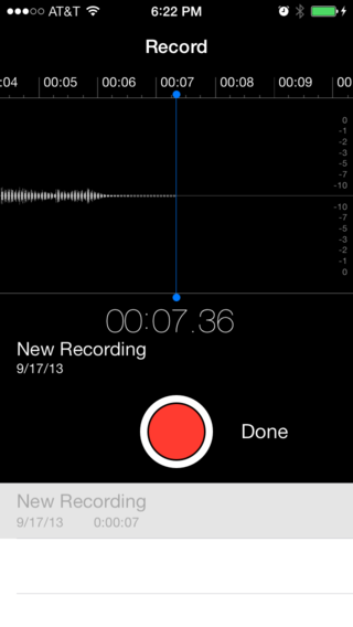 Recording stopped