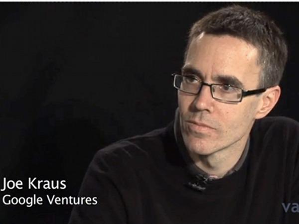 How VC is changing :   Joe Kraus, Entrepreneur-turned-venture Capitalist & Partner at Google Ventures